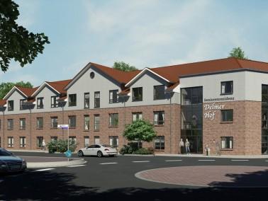 Über 76 Einzelzimmer verfügt die neue Seniorenresidenz, darunter auch zwei Komfortzimmer m...
