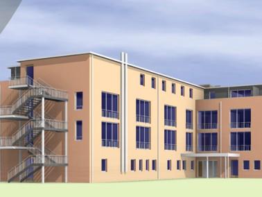 Das moderne SeniVita Haus St. Magdalena wird 2016 fertig gestellt und befindet sich im Zentrum der G...