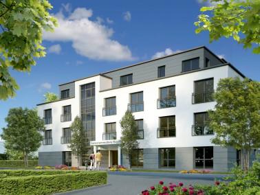 Die Belia Seniorenresidenz Holthausen befindet sich in einem gepflegten Wohngebiet in Essen Übe...