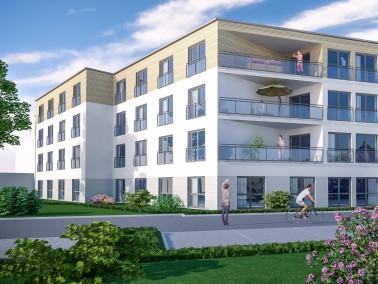 Die stadtmittig gelegene Belia Seniorenresidenz Marl entsteht mit 80 Pflegeplätzen in einem gep...