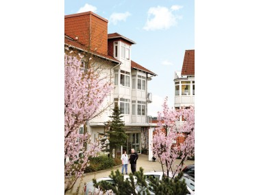 Die komfortable Anlage der CURANUM Seniorenresidenz Concordia in Ennepetal besteht aus mehreren H&au...