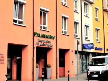 """Unser Altenheim Stift am Ludwigstor, auch """"Palmenhof"""" genannt, befindet sich in allerbes..."""