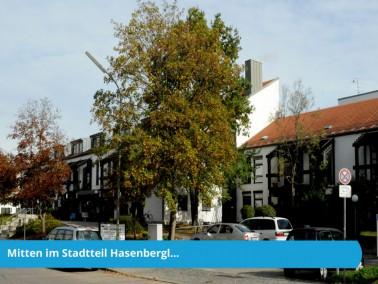 Das AWO-Dorf Hasenbergl wurde 1980 erbaut und liegt umgeben von zahlreichen Grünanlagen am n&ou...