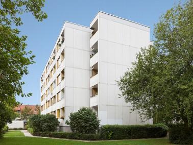 Leben im Grünen: Im Nordwesten der Landeshauptstadt, im Stadtteil Burg liegt unsere barrierearm...