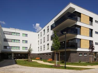 """Standort:  Unser Städtisches Altenpflegeheim """"Goyastraße"""" liegt zwischen dem ..."""