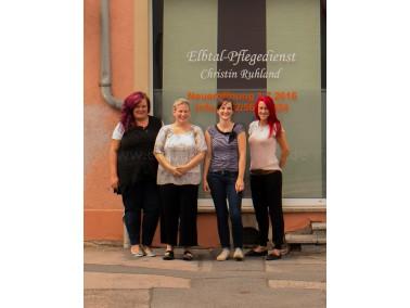 Der neu gegründete Elbtal Pflegedienst für Meißen und Umgebung besteht aus einem sym...