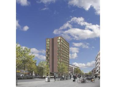 Mitten in Münster    Auf fünf Etagen des neuen Wohnkomplexes warten barrierefreie Ein- un...