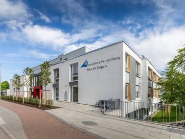 In Bietigheim-Bissingen befindet sich das Haus am Enzpark der Evangelischen Heimstiftung in ei...