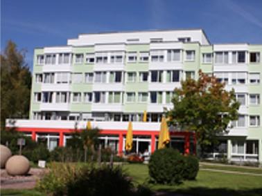 Das von der Evangelischen Heimstiftung betriebene Haus auf dem Wimberg befindet sich in der gro&szli...