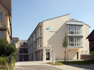 Im Stadtkern von Nebringen befindet sich das von der Evangelischen Heimstiftung betriebene Stephansh...