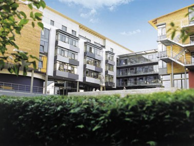 In Stuttgart-Botnang befindet sich das von der Evangelischen Heimstiftung betriebene Karl-Wacker-Hei...