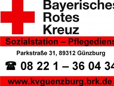 Die BRK Sozialstation in Günzburg hat sich dem Erhalt von Lebensfreude und Lebensqualität ...