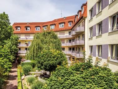 Im staatlich anerkannten Erholungsort Leimen liegt das Dr. Ulla-Schirmer-Haus der Evangelischen Heim...