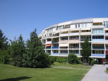 Mitten in München- Neuhausen und trotzdem sehr ruhig  Rund um die Anlage eine große Parka...