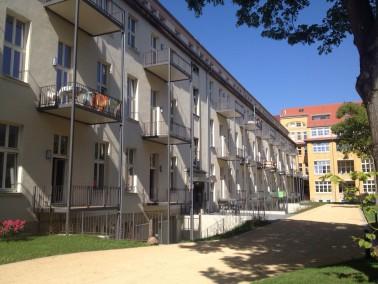 Der 1912 erbaute Gebäudekomplex in der Melscher Straße 7 vedankt seinen Namen Klangwerk s...