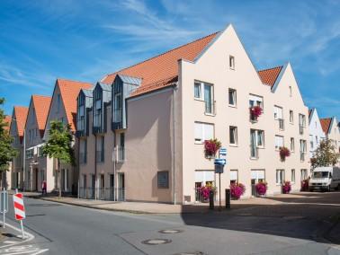 Unser » SeniorenZentrum Am Markt «, im historischen Stadtkern von Horn, mit seinen warme...