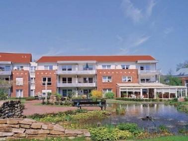 Die modernen, großzügig angelegten Wohnappartements und Pflegezimmer des Hansa Seniorenwo...