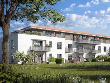 Die Anlage mit 30 seniorengerechte und barrierefreie Eigentumswohnungen ist unmittelbar am Naturschu...