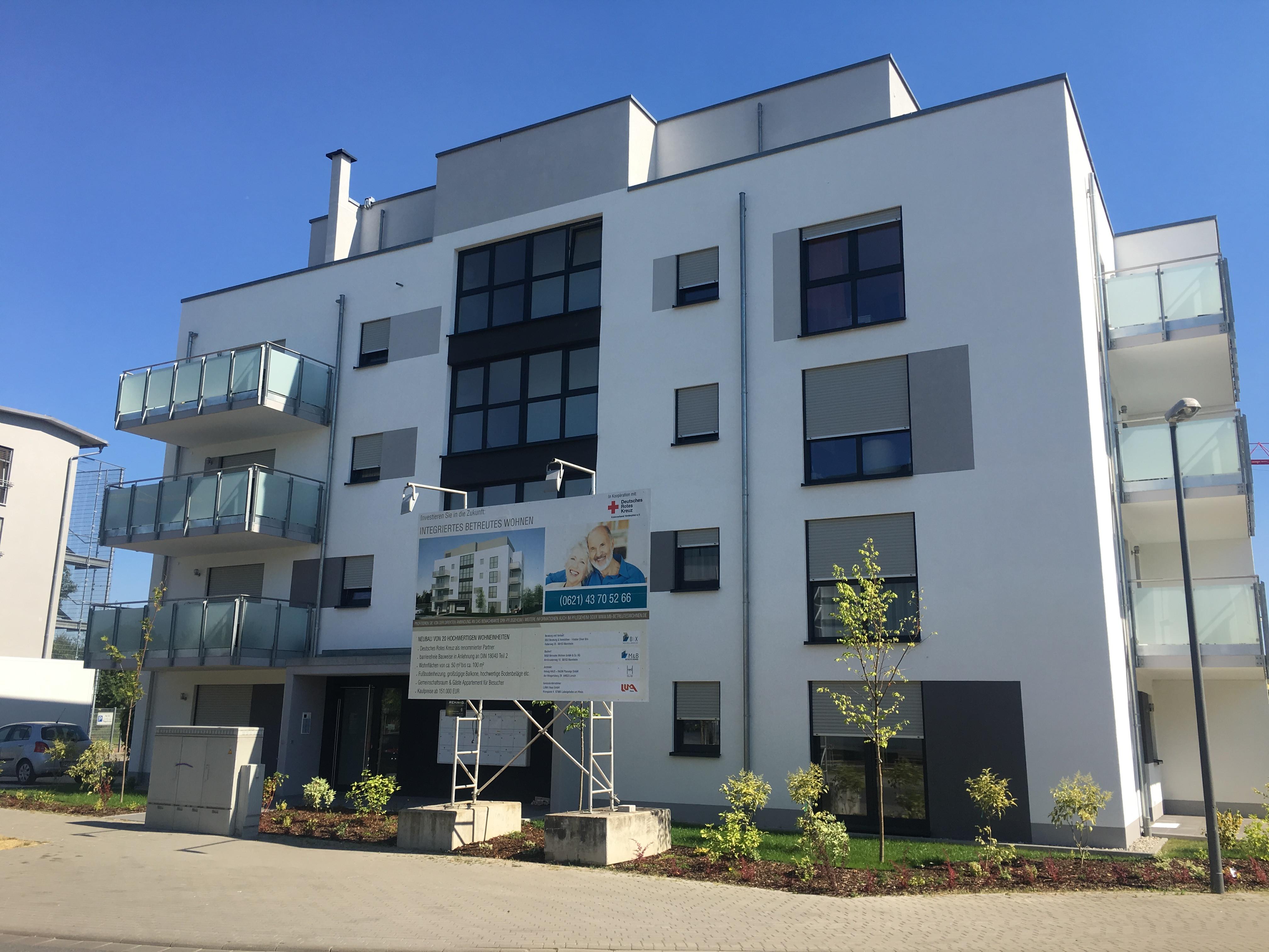 integriertes betreutes wohnen in ludwigshafen am rhein auf wohnen im. Black Bedroom Furniture Sets. Home Design Ideas