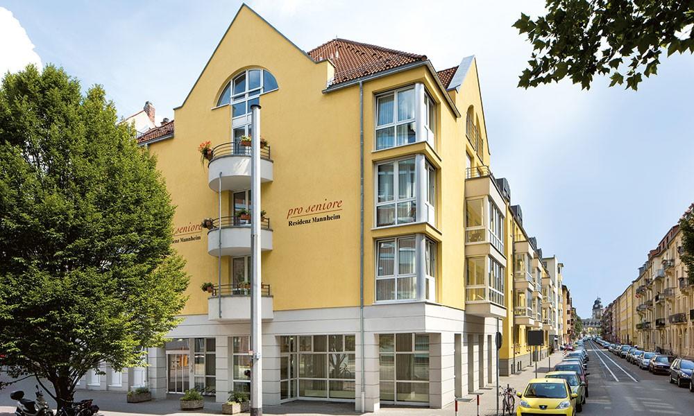 pro seniore residenz mannheim in mannheim auf wohnen im. Black Bedroom Furniture Sets. Home Design Ideas