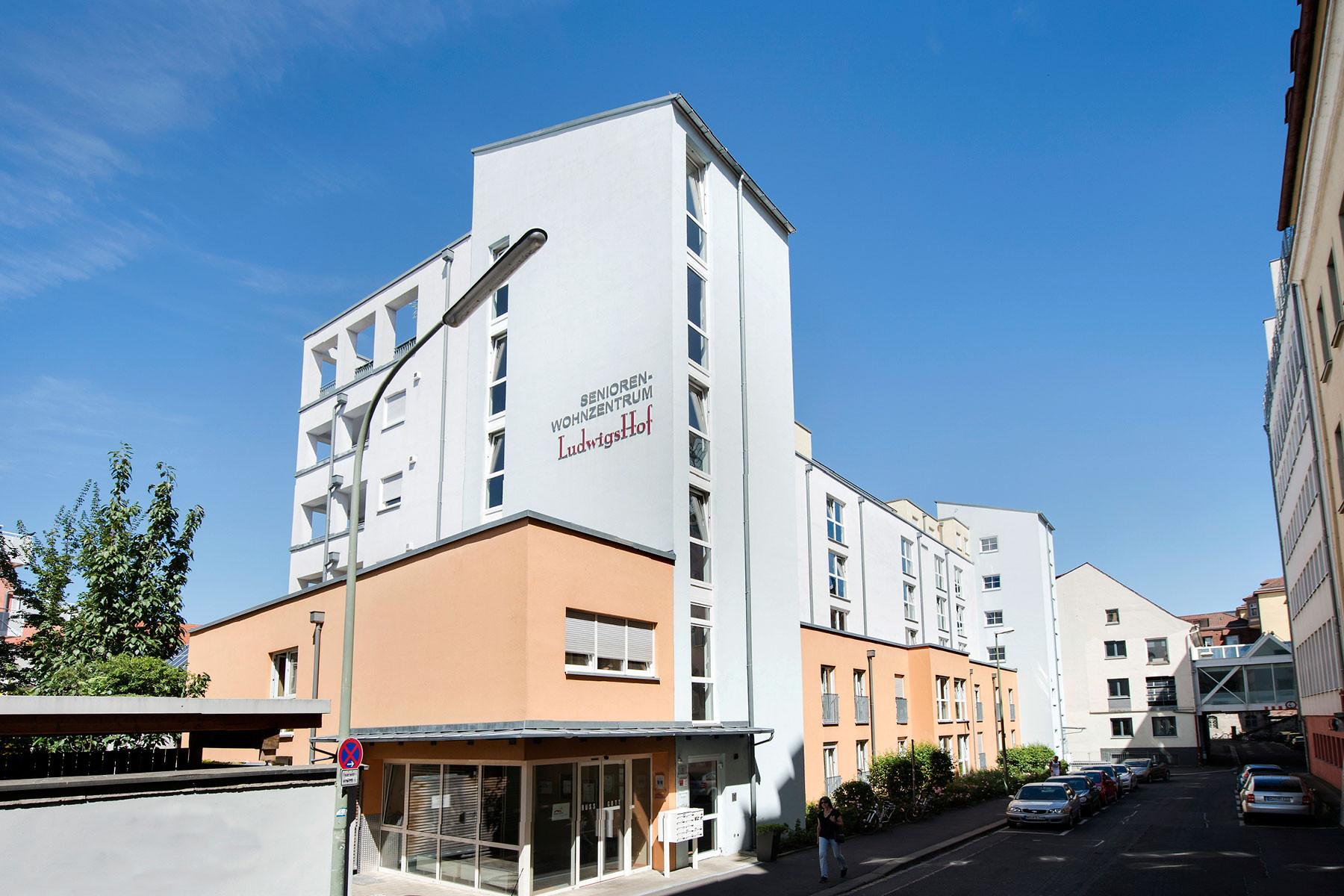 seniorenwohnzentrum ludwigshof in w rzburg auf wohnen im. Black Bedroom Furniture Sets. Home Design Ideas