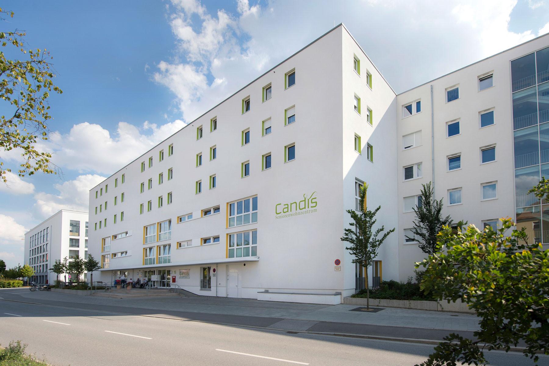 seniorenwohnzentrum candis in regensburg auf wohnen im. Black Bedroom Furniture Sets. Home Design Ideas