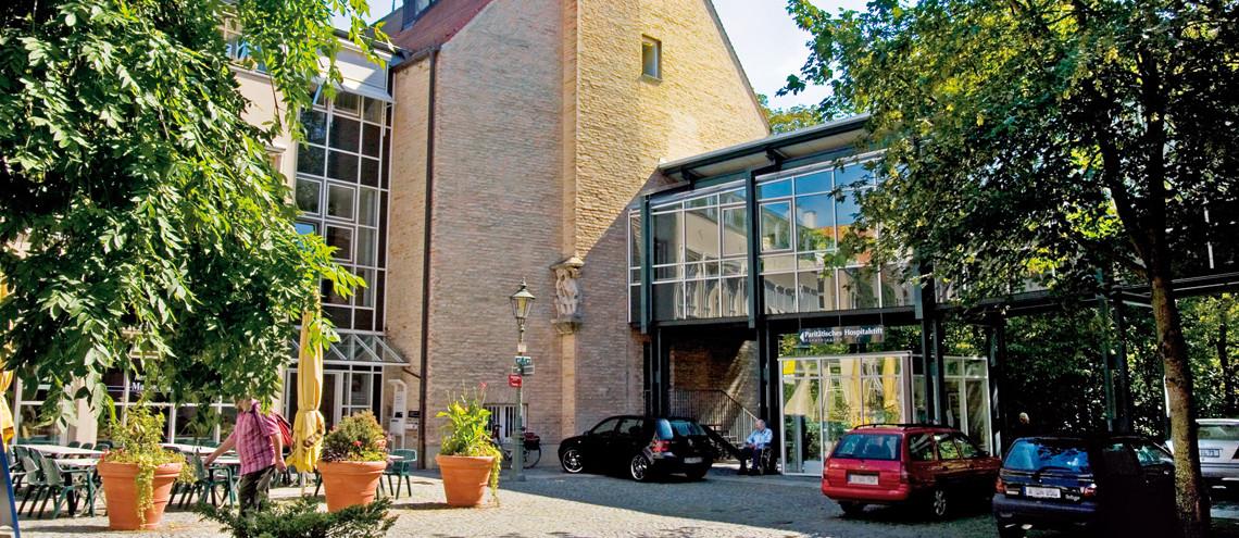 parit tisches hospital stift in augsburg auf wohnen im. Black Bedroom Furniture Sets. Home Design Ideas