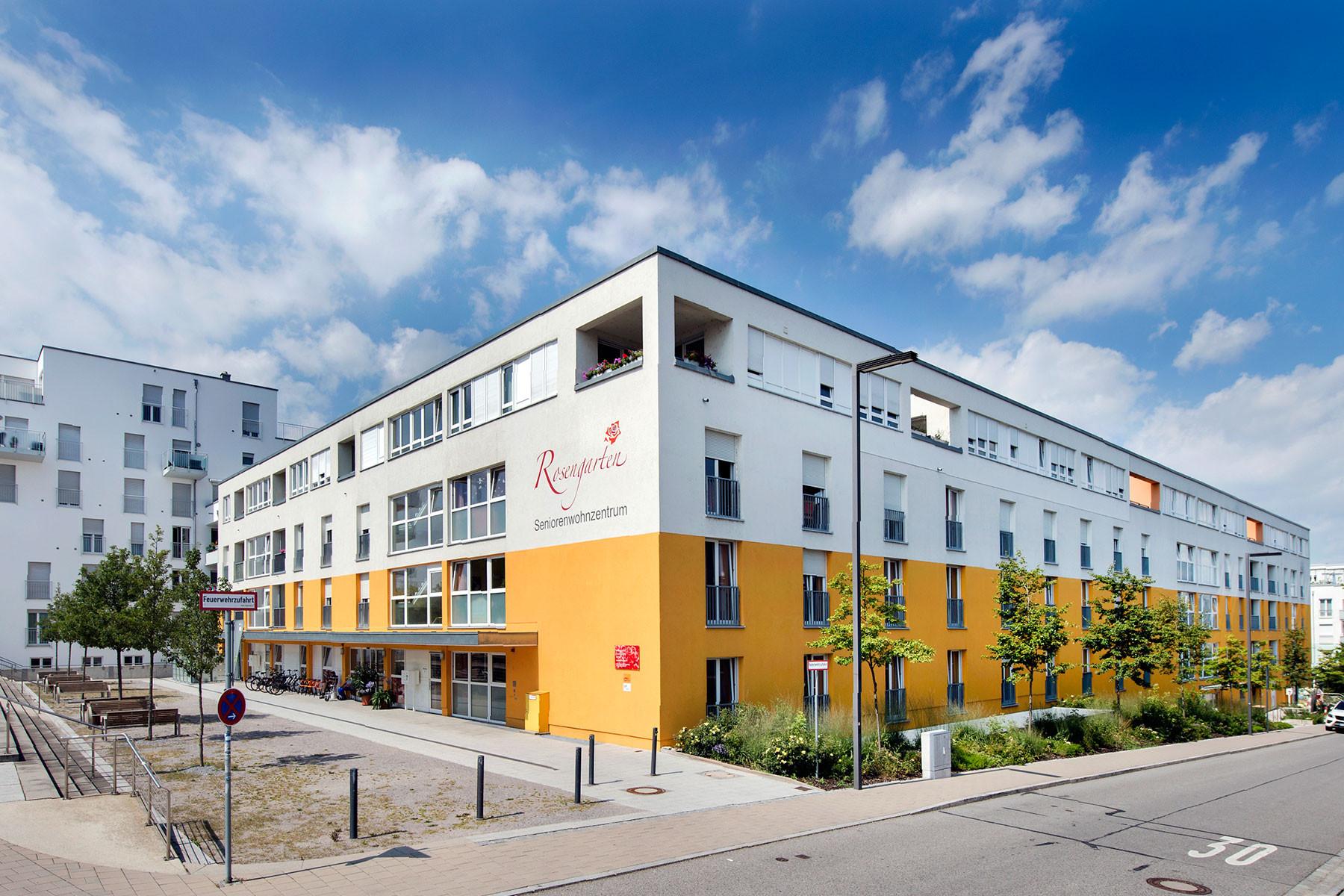 seniorenwohnzentrum stift rosengarten in regensburg auf wohnen im. Black Bedroom Furniture Sets. Home Design Ideas