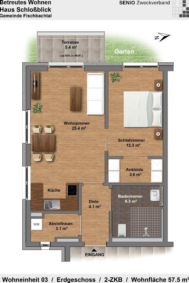 betreutes wohnen in fischbachtal haus schlossblick in fischbachtal auf wohnen im. Black Bedroom Furniture Sets. Home Design Ideas