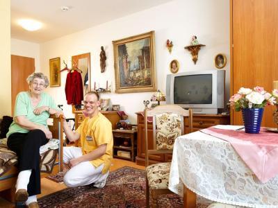 dsg pflegewohnstift am wasserturm in frankfurt am main mitte west auf wohnen im. Black Bedroom Furniture Sets. Home Design Ideas
