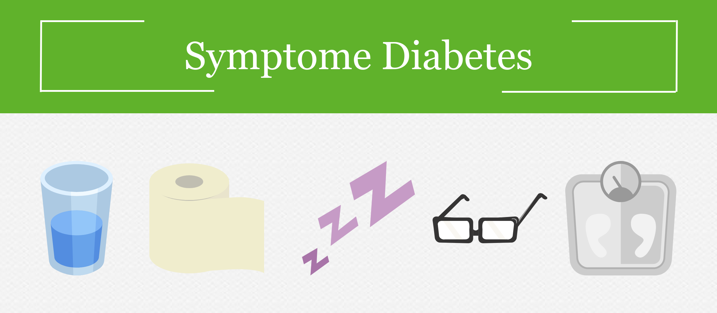 Symptome bei Diabetes