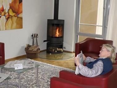 Wohnzimmer Einer Musterwohnung Wohnstift Karlsruhe EV