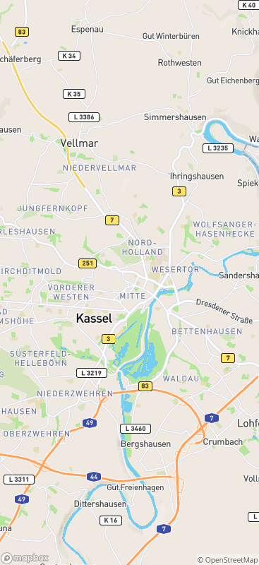 Karte Kassel Und Umgebung.50 Kurzzeitpflege Kassel Vergleichen